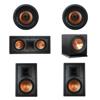 Klipsch 5.1 In-Wall System with 2 R-5800-W II In-Wall Speakers, 1 Klipsch R-5502-W II In-Wall Speaker, 2 Klipsch CDT-5800-C II , 1 Klipsch R-112SW Subwoofer