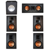 Klipsch 5.1 In-Wall System with 2 R-5800-W II In-Wall Speakers, 1 Klipsch R-5502-W II In-Wall Speaker, 2 Klipsch R-5650-S II In-Wall Speakers, 1 Premier Acoustic PA-150 Subwoofer