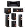 Klipsch 5.1 System - 2 RP-4000F,1 RP-400C,2 RP-400M,1 SPL-100,1 RZ-840 Receiver