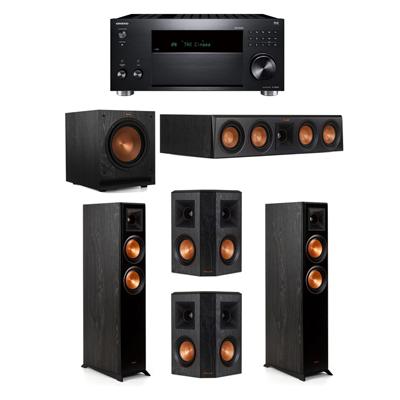 Klipsch 5.1 System - 2 RP-5000F,1 RP-404C,2 RP-402S,1 SPL-100,1 RZ-840 Receiver
