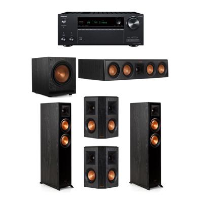 Klipsch 5.1 System - 2 RP-5000F,1 RP-404C,2 RP-402S,1 SPL-100,1 Onkyo TX-NR797 Receiver