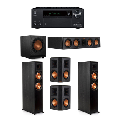 Klipsch 5.1 System - 2 RP-6000F,1 RP-404C,2 RP-502S,1 SPL-100,1 Onkyo TX-NR797 Receiver