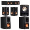Klipsch 5.1 Ebony System with 2 RP600M, 1 RP404C, 2 RP502S, 1 PL-300