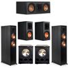 Klipsch 5.2 Ebony System - 2 RP-6000F, 1 RP-500C, 2 RP-600M, 2 PL-300
