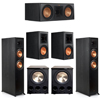 Klipsch 5.2 Ebony System - 2 RP-6000F, 1 RP-600C, 2 RP-600M, 2 PL-300