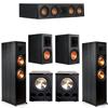 Klipsch 5.2 Ebony System - 2 RP-8000F, 1 RP-404C, 2 RP-600M, 2 PL-300