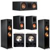 Klipsch 5.2 Ebony System - 2 RP-8000F, 1 RP-600C, 2 RP-600M, 2 PL-300