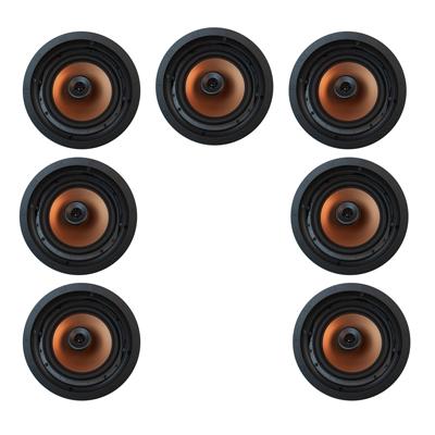 Klipsch 7.0 In-Wall System with 7 CDT-5800-C II In-Ceiling Speakers