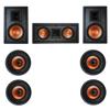 Klipsch 7.0 In-Wall System with 2 R-3800-W II In-Wall Speakers, 1 Klipsch R-5502-W II In-Wall Speaker, 4 Klipsch CDT-3800-C II In-Ceiling Speakers