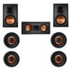 Klipsch 7.0 In-Wall System with 2 R-5800-W II In-Wall Speakers, 1 Klipsch R-5502-W II In-Wall Speaker, 4 Klipsch CDT-5800-C II