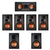 Klipsch 7.0 In-Wall System with 2 R-5800-W II In-Wall Speakers, 1 Klipsch R-5502-W II In-Wall Speaker, 4 Klipsch R-5650-S II In-Wall Speakers