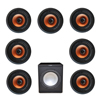 Klipsch 7.1 In-Wall System with 7 CDT-3800-C II In-Ceiling Speakers, 1 Premier Acoustic PA-150 Subwoofer
