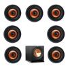 Klipsch 7.1 In-Wall System with 7 CDT-3800-C II In-Ceiling Speakers, 1 Klipsch R-112SW Subwoofer