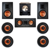Klipsch 7.1 In-Wall System with 2 R-3800-W II In-Wall Speakers, 1 Klipsch R-5502-W II In-Wall Speaker, 4 Klipsch CDT-3800-C II In-Ceiling Speakers, 1 BIC/Acoustech Platinum Series PL-200 II Subwoofer