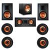 Klipsch 7.1 In-Wall System with 2 R-3800-W II In-Wall Speakers, 1 Klipsch R-5502-W II In-Wall Speaker, 4 Klipsch CDT-3800-C II In-Ceiling Speakers, 1 Klipsch R-115SW Subwoofer