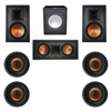 Klipsch 7.1 In-Wall System with 2 R-5800-W II In-Wall Speakers, 1 Klipsch R-5502-W II In-Wall Speaker, 4 Klipsch CDT-5800-C II , 1 Premier Acoustic PA-150 Subwoofer