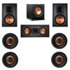 Klipsch 7.1 In-Wall System with 2 R-5800-W II In-Wall Speakers, 1 Klipsch R-5502-W II In-Wall Speaker, 4 Klipsch CDT-5800-C II , 1 Klipsch R-110SW Subwoofer