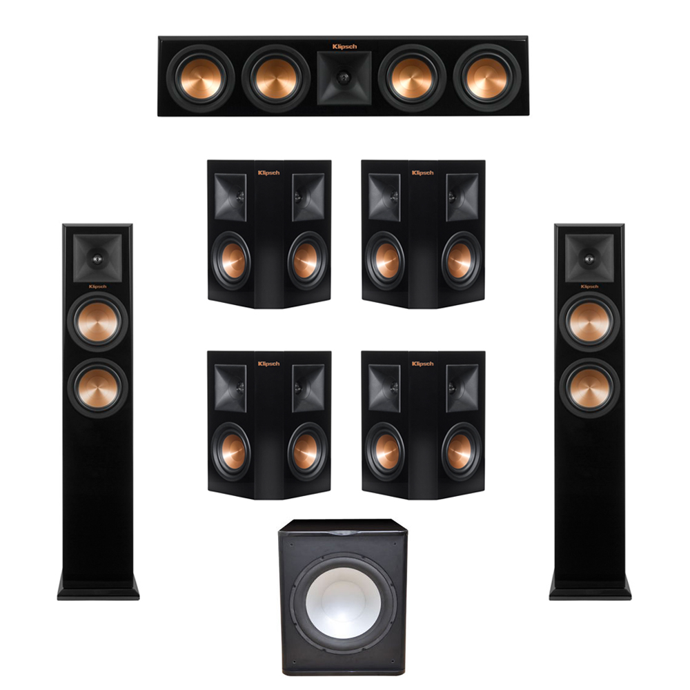 klipsch tower speakers. image is loading klipsch-7-1-system-with-2-rp-250f- klipsch tower speakers n