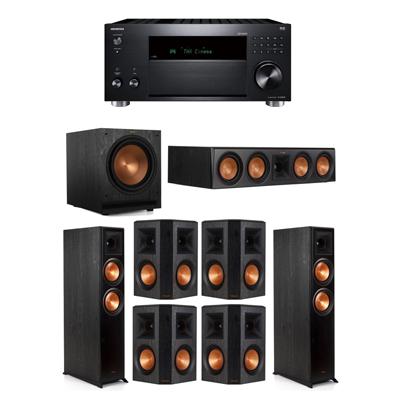 Klipsch 7.1 System - 2 RP-6000F,1 RP-504C,4 RP-502S,1 SPL-120,1 RZ-840 Receiver