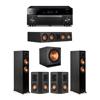Klipsch 5.1 Ebony System - 2 RP-5000F,1 RP-404C,2 RP-402S,1 SPL-150,1 RX-A1080