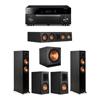 Klipsch 5.1 Ebony System - 2 RP-5000F,1 RP-404C,2 RP-500M,1 SPL-150,1 RX-A1080