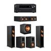 Klipsch 5.1 Ebony System - 2 RP-5000F,1 RP-404C,2 RP-500M,1 SPL-150,1 Onkyo TX-NR797 Receiver