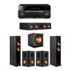 Klipsch 5.1 Ebony System - 2 RP-5000F,1 RP-404C,2 RP-502S,1 SPL-150,1 RX-A1080