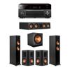Klipsch 5.1 Ebony System - 2 RP-5000F,1 RP-404C,2 RP-502S,1 SPL-150,1 RX-A3080