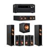 Klipsch 5.1 Ebony System - 2 RP-5000F,1 RP-404C,2 RP-502S,1 SPL-150,1 Onkyo TX-NR797 Receiver