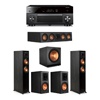 Klipsch 5.1 Ebony System - 2 RP-5000F,1 RP-404C,2 RP-600M,1 SPL-150,1 RX-A3080