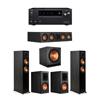 Klipsch 5.1 Ebony System - 2 RP-5000F,1 RP-404C,2 RP-600M,1 SPL-150,1 Onkyo TX-NR797 Receiver