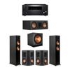 Klipsch 5.1 Ebony System - 2 RP-5000F,1 RP-500C,2 RP-402S,1 SPL-150,1 RZ-840 Receiver