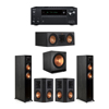 Klipsch 5.1 Ebony System - 2 RP-5000F,1 RP-500C,2 RP-502S,1 SPL-150,1 Onkyo TX-NR797 Receiver