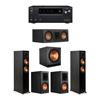Klipsch 5.1 Ebony System - 2 RP-5000F,1 RP-500C,2 RP-600M,1 SPL-150,1 Onkyo TX-NR797 Receiver