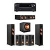 Klipsch 5.1 Ebony System - 2 RP-5000F,1 RP-504C,2 RP-402S,1 SPL-150,1 Onkyo TX-NR797 Receiver