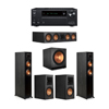 Klipsch 5.1 Ebony System - 2 RP-5000F,1 RP-504C,2 RP-500M,1 SPL-150,1 Onkyo TX-NR797 Receiver