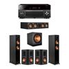 Klipsch 5.1 Ebony System - 2 RP-5000F,1 RP-504C,2 RP-502S,1 SPL-150,1 RX-A3080