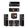 Klipsch 5.1 Ebony System - 2 RP-5000F,1 RP-600C,2 RP-402S,1 SPL-150,1 RX-A3080