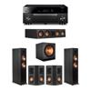 Klipsch 5.1 Ebony System - 2 RP-6000F,1 RP-404C,2 RP-402S,1 SPL-150,1 RX-A1080