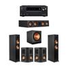 Klipsch 5.1 Ebony System - 2 RP-6000F,1 RP-404C,2 RP-402S,1 SPL-150,1 Onkyo TX-NR797 Receiver