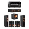Klipsch 5.1 Ebony System - 2 RP-6000F,1 RP-404C,2 RP-502S,1 SPL-150,1 RX-A1080