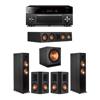 Klipsch 5.1 Ebony System - 2 RP-6000F,1 RP-404C,2 RP-502S,1 SPL-150,1 RX-A3080
