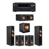 Klipsch 5.1 Ebony System - 2 RP-6000F,1 RP-500C,2 RP-402S,1 SPL-150,1 Onkyo TX-NR797 Receiver