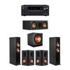 Klipsch 5.1 Ebony System - 2 RP-6000F,1 RP-500C,2 RP-502S,1 SPL-150,1 Onkyo TX-NR797 Receiver