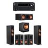 Klipsch 5.1 Ebony System - 2 RP-6000F,1 RP-600C,2 RP-502S,1 SPL-150,1 Onkyo TX-NR797 Receiver