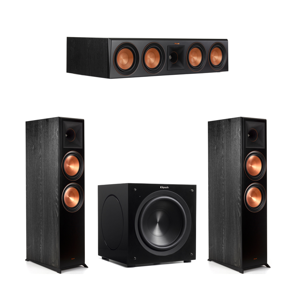 Klipsch 3.1 Piano Black System with-2 RP-8000F -1 RP-504C-1 C-310ASWi Subwoofer