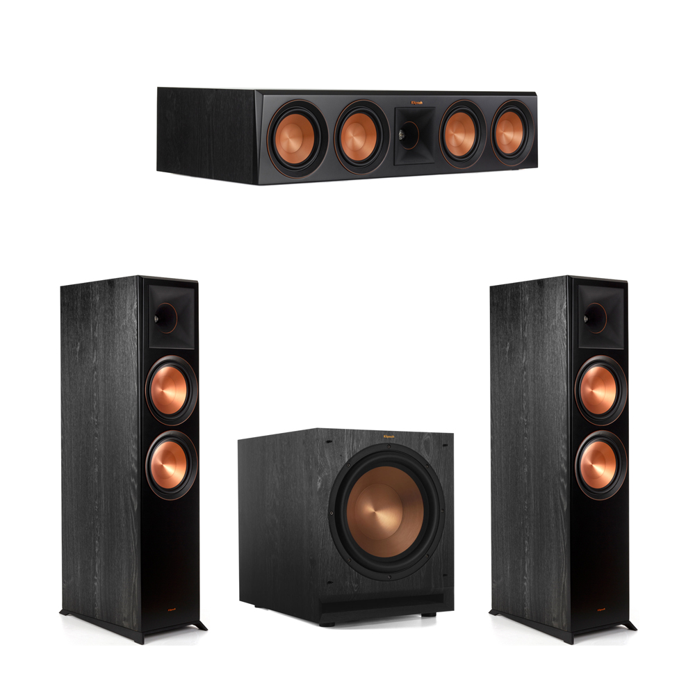 Klipsch 3.1 Piano Black System with-2 RP-8000F -1 RP-504C-1 SPL-120 Subwoofer