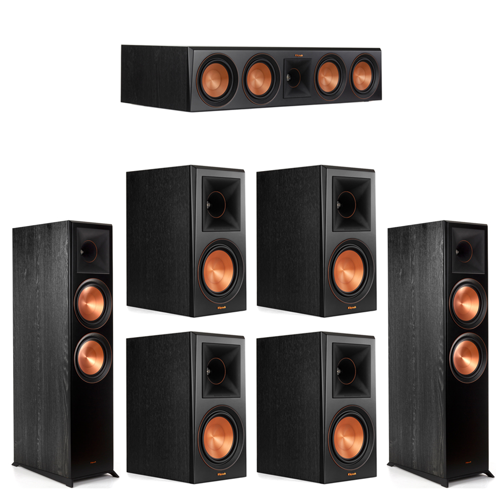 Klipsch 7.0 Piano Black System with-2 RP-8000F -1 RP-504C-4 RP-600M
