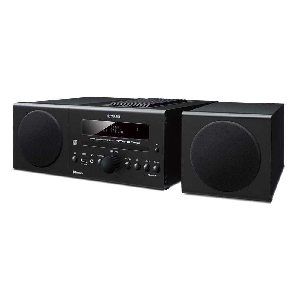Yamaha MCR-B043BL Black Micro Component System