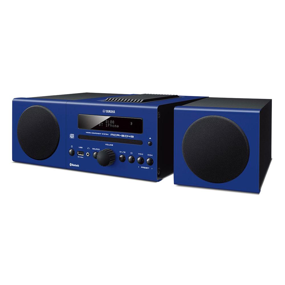 Yamaha MCR-B043BLU Blue Micro Component System
